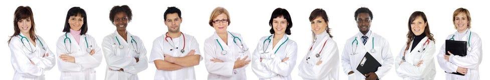 Equipa médica de mulher fotografia de stock