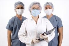 Equipa médica do grupo Foto de Stock Royalty Free