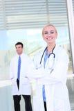 Equipa médica no hospital Fotografia de Stock Royalty Free