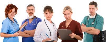 Equipa médica bem sucedida Foto de Stock