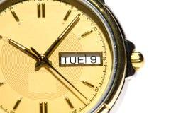 Equipa o relógio Fotografia de Stock Royalty Free