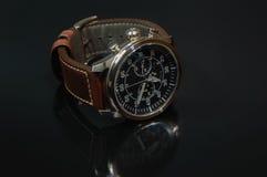 Equipa o relógio Imagens de Stock Royalty Free
