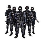Equipa SWAT Imagem de Stock Royalty Free