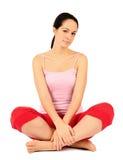 Equipado com pernas transversal fotografia de stock royalty free