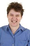Equipaggi con il ritratto scoperto dei denti Immagini Stock Libere da Diritti