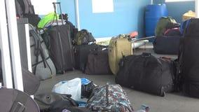 equipaje almacen de metraje de vídeo