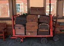equipaje Foto de archivo libre de regalías