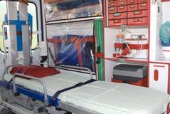 Equipament no veículo da emergência Imagem de Stock Royalty Free