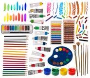 Equipamento artístico Imagem de Stock
