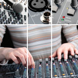 Equipamento audio Foto de Stock