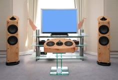 Equipamento audio e video Home Fotos de Stock