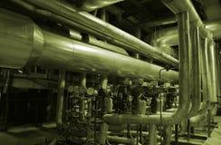 Equipamento, cabos e encanamento Imagens de Stock