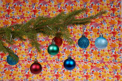 Equipamento da árvore de Natal, brinquedos do Natal Foto de Stock