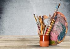 Equipamento da arte e do ofício fotografia de stock royalty free