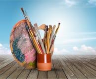 Equipamento da arte e do ofício imagem de stock royalty free
