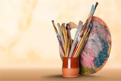 Equipamento da arte e do ofício fotografia de stock