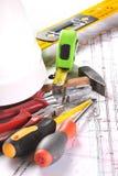 Equipamento da engenharia Foto de Stock Royalty Free