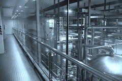 Equipamento da fabricação de cerveja da cervejaria de Tsingtao Fotografia de Stock Royalty Free