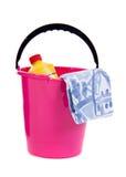 Equipamento da limpeza Imagens de Stock
