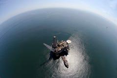 Equipamento da perfuração para a exploração do petróleo Foto de Stock