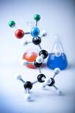 Equipamento da química Fotografia de Stock