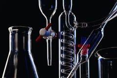 Equipamento da química fotografia de stock royalty free