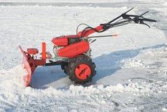 Equipamento da remoção de neve fotos de stock