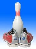Equipamento de bowling Imagem de Stock Royalty Free