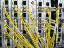 Equipamento de comunicações de XFP Imagens de Stock