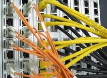 Equipamento de comunicações do prestador de serviços do Internet Fotos de Stock