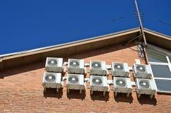 Equipamento de condicionamento de ar Imagens de Stock