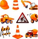Equipamento de construção Fotografia de Stock