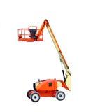Equipamento de construção industrial do manlift da máquina imagens de stock royalty free
