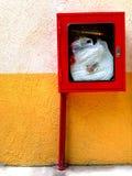 Equipamento de emergência dos extintores Imagens de Stock Royalty Free