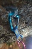 Equipamento de escalada Fotografia de Stock