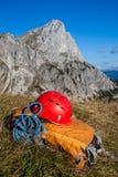 Equipamento de escalada Foto de Stock