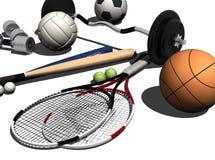 Equipamento de esportes ilustração do vetor