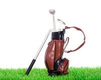 Equipamento de golfe Imagem de Stock Royalty Free