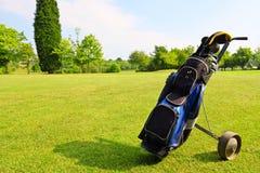 Equipamento de golfe Fotos de Stock