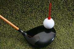 Equipamento de golfe Imagens de Stock