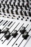 Equipamento de gravação audio imagem de stock