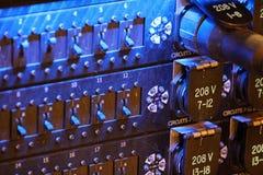Equipamento de iluminação Fotografia de Stock Royalty Free