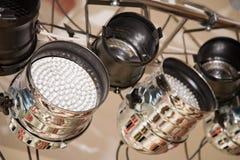 Equipamento de iluminação Fotografia de Stock