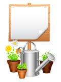 Equipamento de jardim Foto de Stock