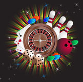 Equipamento de jogo Imagens de Stock