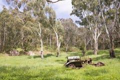 Equipamento de oxidação: A mina de Almanda, Scott Creek Conservation Pa fotografia de stock royalty free