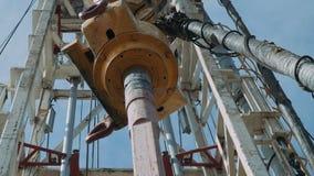 Equipamento de perfuração para a exploração do petróleo filme