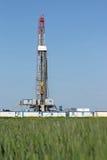 Equipamento de perfuração para a exploração do petróleo da terra Fotografia de Stock Royalty Free