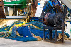 Equipamento de pesca fotos de stock