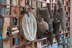 Equipamento de pesca de Tailândia Imagens de Stock